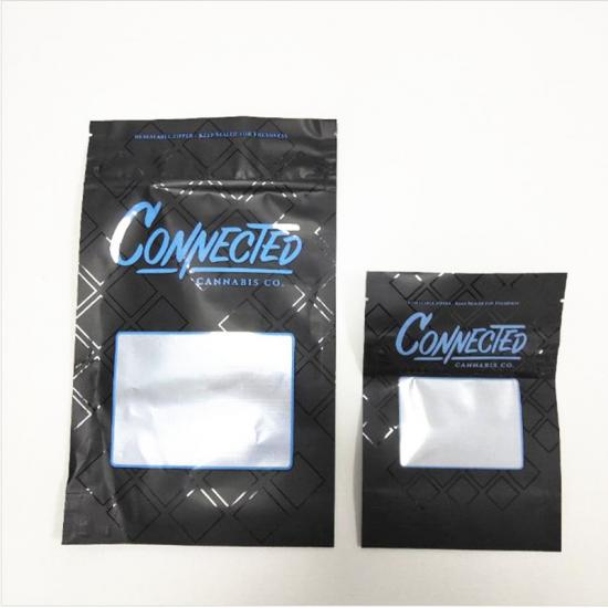 Connected weed packaging mylar bags
