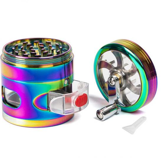 4 Layer herbal weed grinder