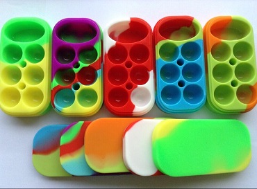 Silicone Jar for Wax Packaging